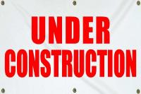 Under Construction Sign - Small (2x4)